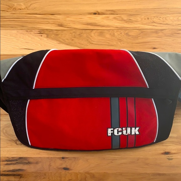 French Connection UK Retro Sports Bag